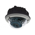Pixim Seawolf 690HTVL-E Resolution 4-9mm IR Range 20M 60FT Weatherproof Dome CCTV Camera with 120dB Ultra WDR Range OSD Menu 3D-DNR and 3-Axis Bracket